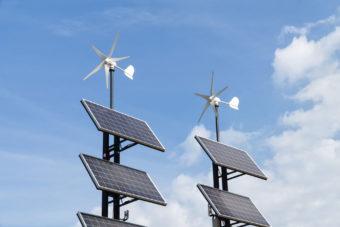 small wind and solar generators